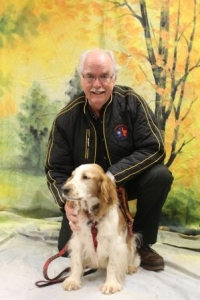 Love is the best reward for this therapy dog