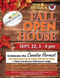 Home to host fall open house