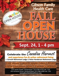 Retirement homes host Open House this fall
