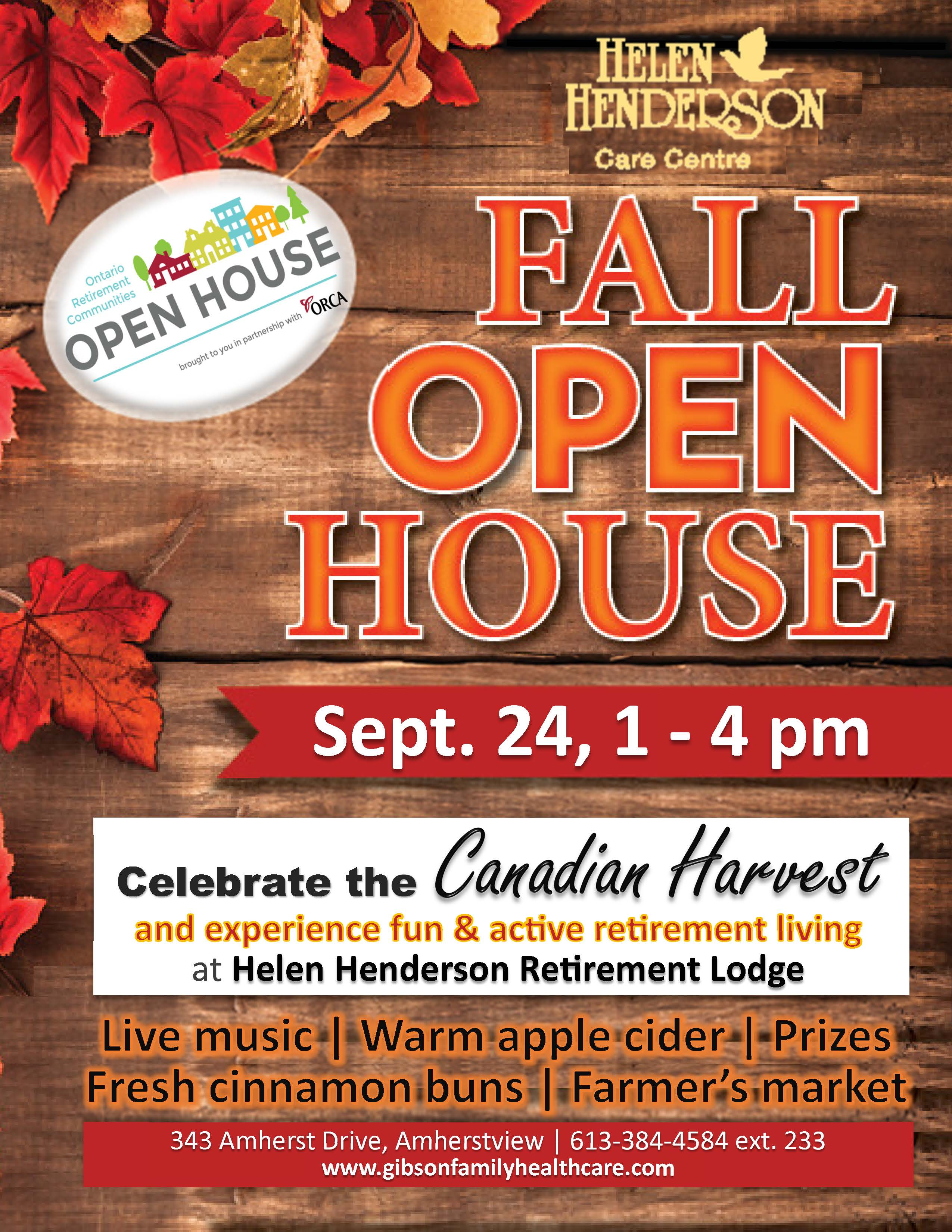 New poster HHCC Open House