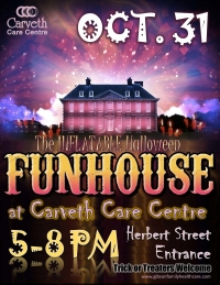 Trick or treaters invited to Halloween at Carveth Care Centre