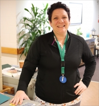 Nurse recognized for workplace excellence