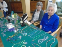 Lodge resident has fun with jewelry