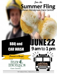 Charity Car Wash and BBQ