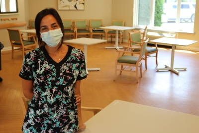 Nursing grad excels during pandemic