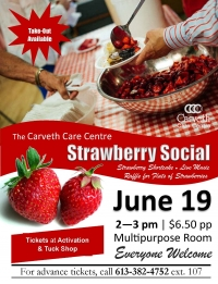 Home hosts annual Strawberry Social