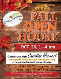 Retirement Lodge to host Fall Open House