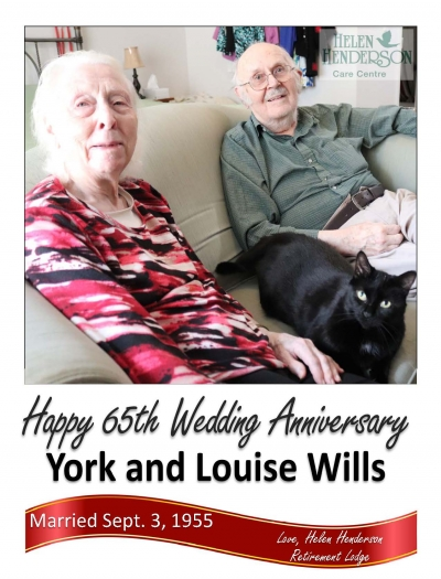 Amherstview couple to celebrate 65th wedding anniversary tomorrow