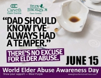 Homes mark World Elder Abuse Awareness Day